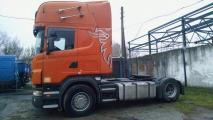 Автомалиновка Scania R420