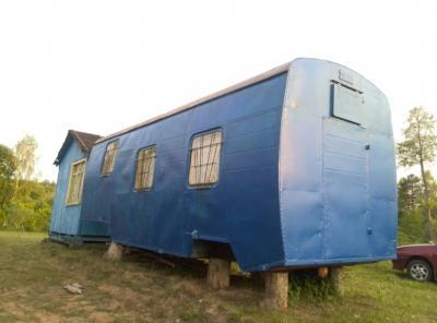 Прицеп строительный вагончик