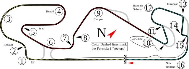 Трасса Формулы-1 на Каталунье