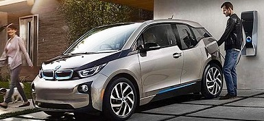 BMW i3 eDrive, зарядка