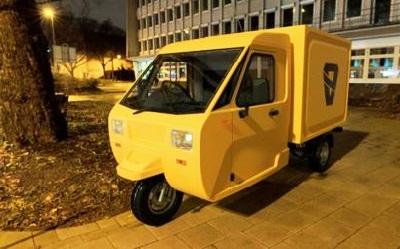 ВРФ конструкторы создали компактный грузовичок-трицикл «Шмель»
