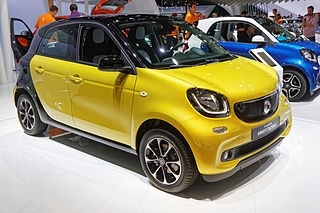 Smart Forfour 2014 года