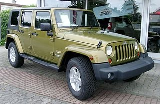 Jeep Wrangler Unlimited Sahara Edition