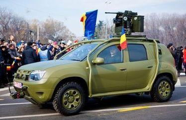 Dacia Duster в армейском исполнении
