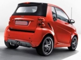Brabus Xclusive Red Edition или Smart Fortwo в новом обличье