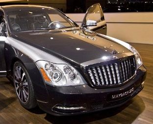 Maybach 57S — карбоновый монстр от Knight Luxury