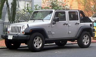 Jeep Wrangler Unlimited 2010 года